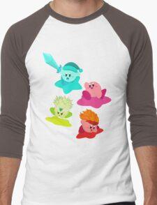 Kirby (Request) Men's Baseball ¾ T-Shirt