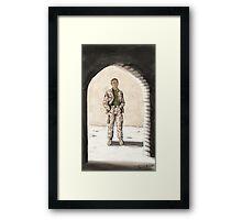 Captain Watson Framed Print