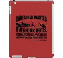 Caretaker Wanted iPad Case/Skin