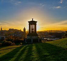 Dugald Stewart Monument by Peter Luxem