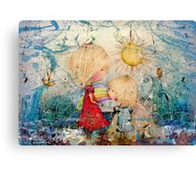 sun and sea Canvas Print