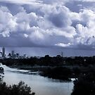 Perth - Gathering Storm 21/7/2011 by Kell Rowe