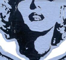 """""""R.I.P. Marilyn"""" Clothing Sticker"""