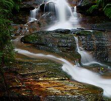 leura cascades by peter  jackson