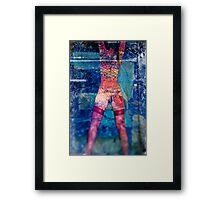 Nude elle Framed Print