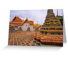 Wat Pho - Thailand Greeting Card