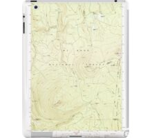 USGS Topo Map Oregon Pinhead Buttes 281100 1986 24000 iPad Case/Skin