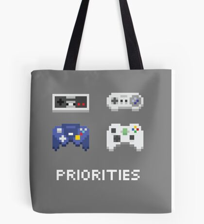 Priorities Tote Bag