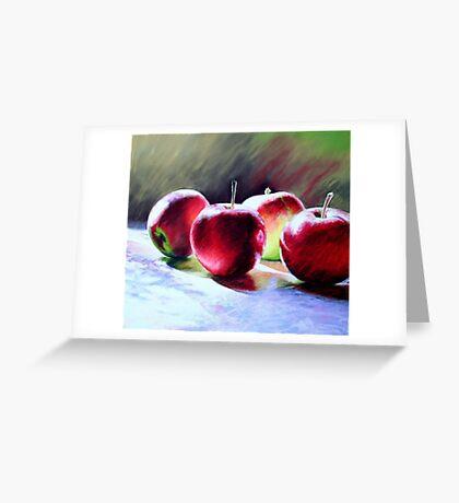 Fresh Apples Greeting Card