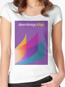 Dean Design Corporate Printing Women's Fitted Scoop T-Shirt