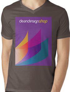 Dean Design Corporate Printing Mens V-Neck T-Shirt