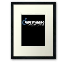 Heisenberg Laboratories Framed Print