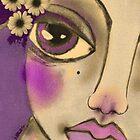 LILAC NIGHT by Barbara Cannon  ART.. AKA Barbieville