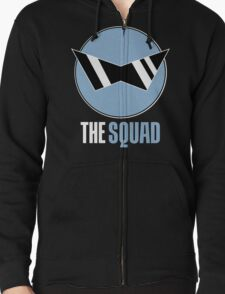 Squirtle Squad Zipped Hoodie