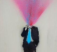 splatter man by Ben Perrin-Smith