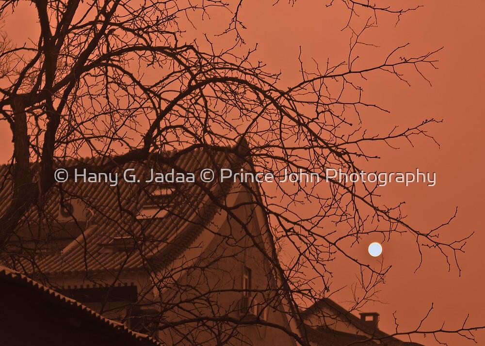 Sunset Over The Hutongs by © Hany G. Jadaa © Prince John Photography