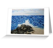 Ocean Blue Greeting Card