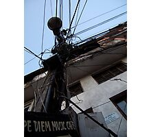 Lamp post Photographic Print