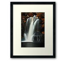 Inversnaid Waterfall Framed Print