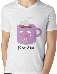 Koffee Mens V-Neck T-Shirt