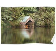 Loch Ard Boathouse Poster