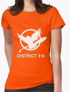 District 9 3/4 Womens Fitted T-Shirt