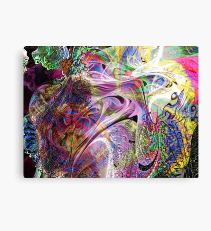 Three-layer blended abstract (UF0397)  Canvas Print