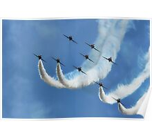 Red Arrows ~ Lyme Regis Poster