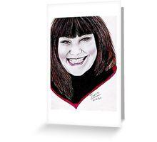 Dawn French - Vicar of Dibley Greeting Card
