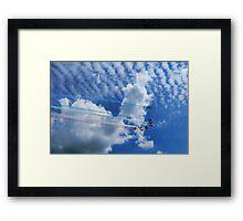 Into The Blue ~ Lyme Regis Framed Print