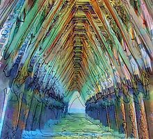 Under the Sea Cabin's Pier by suzannem73