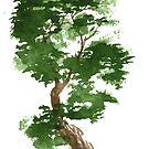 Little Zen Tree 311 by Sean Seal