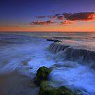 Beach Waterfall by Jill Fisher