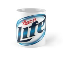 Beer is Life Parody Logo Mug