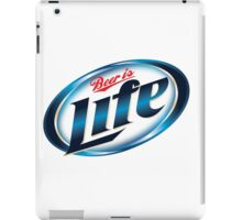 Beer is Life Parody Logo iPad Case/Skin
