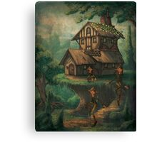 The Brownies Cottage Canvas Print