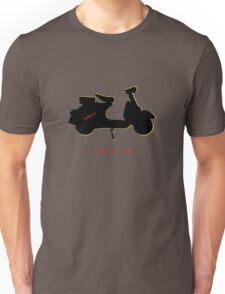 I love my vespa Unisex T-Shirt
