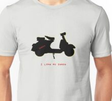 I love my vespa Unisex T-Shirt