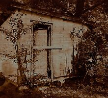 No Trespassing (or Ghost in the Shed) by Scott Mitchell