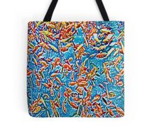 Goldfish #1 in Cool Tones Tote Bag