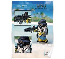 MNU diving suit 2 Poster