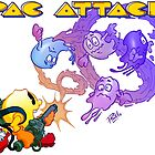Pac Attack by Hackers