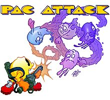 Pac Attack Photographic Print