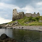 Dunure Castle by RSMphotography