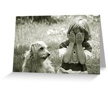 I'll count to ten...you hide Greeting Card