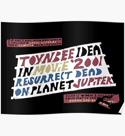 Toynbee Tile Poster