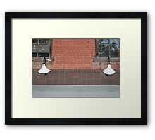 One Light, Two Light Framed Print