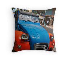 Citroën in Chania Throw Pillow