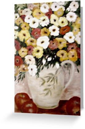 Fruit and Flowers by Phyllis Frameli