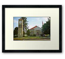 Route 66 - Atlanta, Illinois Framed Print